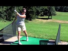 The Best Stretches For Golf Pre-Round Warm-Up Golf Videos, Golf Exercises, Golf 1, Best Stretches, Golf Tips, Yoga Poses, Good Things, Warm, Fitness