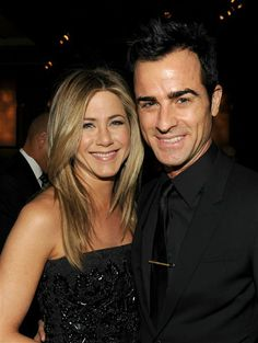 Jennifer Aniston and actor-director Justin Theroux attend the 64th Annual Directors Guild Of America Awards cocktail reception held at the Grand Ballroom.