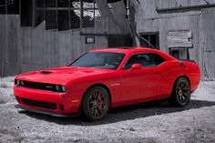 2015 Dodge Challenger SRT Hellcat - Billed as the most powerful Chrysler engine made to date, this supercharged 6.2-liter Hemi V8 produces over 600 horsepower, making it a highly-capable track car. All this power goes through either a six-speed manual transmission or an eight-speed TorqueFlite automatic. | Uncrate