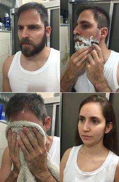Dating beard man meme