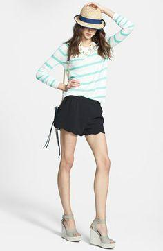 Splendid Pullover & Olive & Oak Shorts  available at #Nordstrom