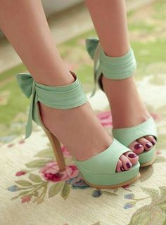 (10) Twitter Mint High Heels ec2199f6a