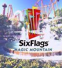 #Ticket  3 Six Flags Magic Mountain Ticketsgültig 2016Los AngelesUSAFreizeitpark #Ostereich