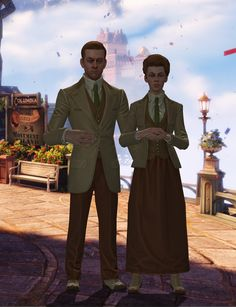 Bioshock Infinite Luteces waiting in Colombia
