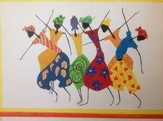 African Dance by DaniBubArt on Etsy, $25.00