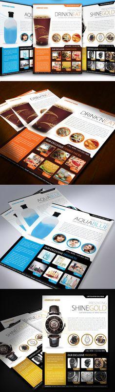 Multiuse Modern Product Flyer by saptarang , via Behance