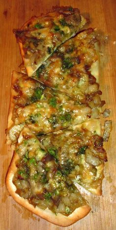 Caramelised Fennel and Onion Pizza