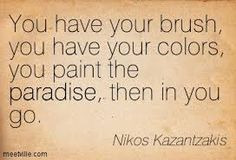nikos kazantzakis quote Happy Quotes, Best Quotes, Uplifting Quotes, Inspirational Quotes, Teacher Images, Zorba The Greek, Victor Hugo, Free Victor, Famous Words
