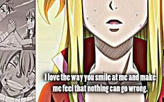 Fairy Tail Love Quotes I Don't Want… To Run Awaymyselfbecause No Matter What I'd
