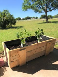 Thanks for this post.How to Build a Pallet Planter Box DIY.Here I am again with another pallet project for you. We're on a roll! When you have lots of pallets, you use them! Recently my honey had a morning off and he built this planter # Box Stone Planters, Wooden Planters, Large Planters, Diy Planters, Outdoor Planters, Concrete Planters, Flower Planters, Ceramic Planters, Hanging Planters