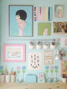 A+Deco: Espacios x color: Pasteles. http://arqmasdeco.blogspot.com