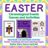 Easter Activities, Mini Book, Sequencing Game, Teaching Po