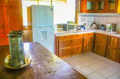 Casita kitchen Vista Drake Lodge Drake Bay, Osa Peninsula Costa Rica #travel #budget #vacation