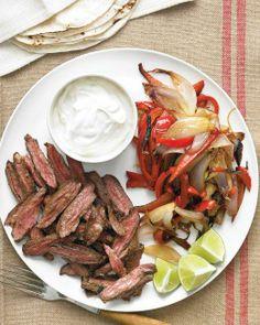 Seared Spicy Fajitas Recipe
