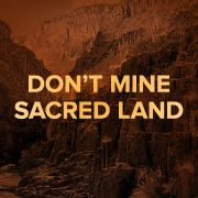 Don't mine sacred Native American land in Arizona. http://act.credoaction.com/sign/Apache_land?nosig=1&t=1&akid=15056.2742013.g1tUIQ