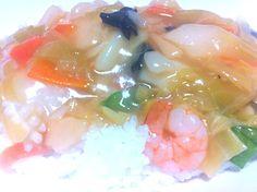 今日の晩飯:冷凍です。はい。 - 6件のもぐもぐ - 中華丼 by taackn