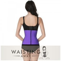 GET YOUR BODY BACK, Our High-Quality Purple Underbust Latex Waist Trainer provides the maximum support and comfort, while giving sexy curves and the perfect waistline.