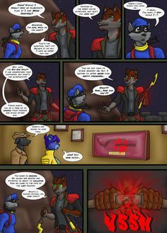 Sly Cooper: Thief of Virtue Page 323 by ConnorDavidson