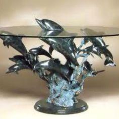 Dolphin table