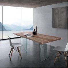 Tavolo l. 200 X 100 cm art. bio-glass