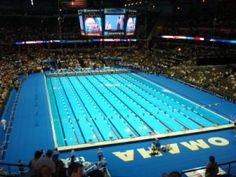 Olympic Swim Trials - Omaha, NE - 2008, 2012 and now coming back for 2016!  We LOVE our sports in this town!