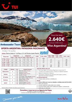 Oferta Argentina: Patagonia fascinante 15 días/12 noches. Precio final desde 2.640€ ultimo minuto - http://zocotours.com/oferta-argentina-patagonia-fascinante-15-dias12-noches-precio-final-desde-2-640e-ultimo-minuto/