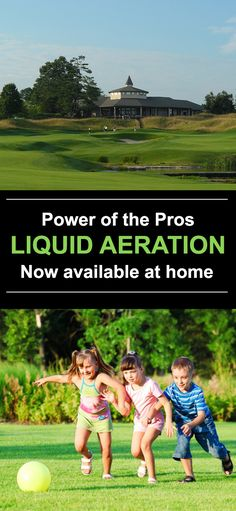 The patented solution is the strongest liquid aeration available--the power of 0pH acid but 100% safe for people, pet, plants, and the planet.
