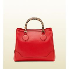 Gucci Diana Bamboo Handle Tote ($2,150) ❤ liked on Polyvore