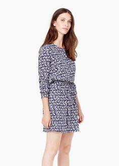 Fitted klänning | MANGO