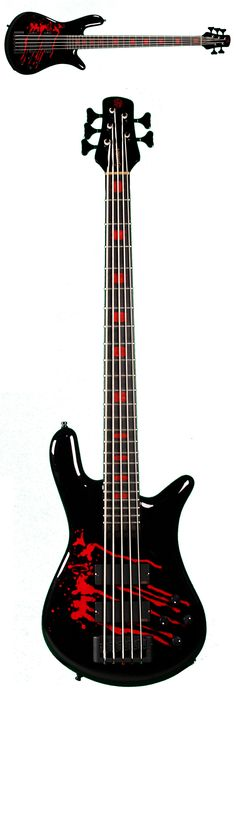 Spector Euro5LX Alex Webster Signature Bass Guitar.  Get 10% off this guitar or anything else you need with Coupon Code PIN10 at MusicPower.com!