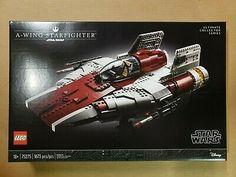 Lego 75275 Star Wars A-wing Starfighter Building Kit (1673 pcs) Lego War, Geek Gear, Lego Brick, Lego Star Wars, Wings, Kit, Stars, Building, Ebay