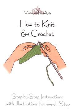 I want to learn to knit.