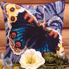 """Magique Pillow Cross Stitch Kit-15.75""""X15.75"""""""