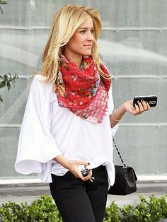 Kristin Cavallari street style.