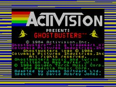 Ghostbusters (ZX Spectrum)