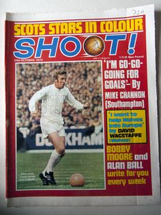 ... The post 1970 10 24 Shoot Magazine appeared first on Football InPrint. Crystal Palace Team, Leeds United Wallpaper, Brazil Players, Chelsea Players, Bobby Moore, Mick Jones, West Brom, Vintage Football