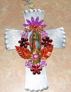 Our lady of guadalupe embroidery things i 39 ve made for Our lady of guadalupe arts and crafts