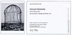 山本悍右展 2016年 タカイシイギャラリー ニューヨーク.Yamamoto Kansuke Exhibition, Taka Ishii Gallery New York 2016