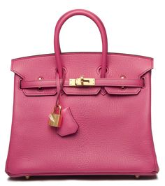 Just because it is pink and it's a Birkin. ROSE TYRIEN & ULTRAVIOLET CHEVRE LEATHER BIRKIN BAG Christie's Handbags & Accessories