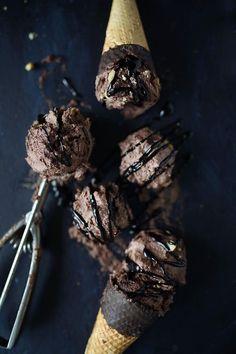 Vegan Chocolate Brownie Icecream