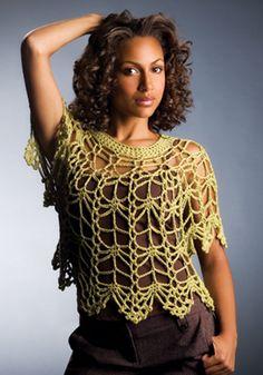 #haken, gratis patroon (Engels), top, trui, zomer, #crochet, free pattern, top, summer, by Doris Chan