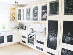 Tafelfolie Küche selbstklebende tafelfolie kreidetafel küche diy wandtafelfolie