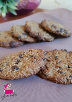 Cookies au son d'avoine - IG bas