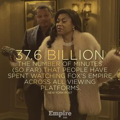 Empire on Instagram. The numbers don't lie, boo! #Empire keeps it lit. 🙌