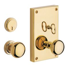 Dark Bronze Baldwin Hardware 6550 Georgetown Knob Entrance Trim Front Door Handle