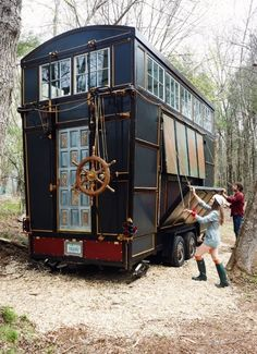 The Tiny Home Project - By Designers Chloe Barcelou and Brandon Batchelder