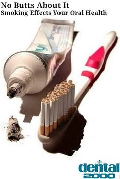 Smoking damages your teeth and gums -- and increases your chances of oral cancer! Don't put yourself at risk!