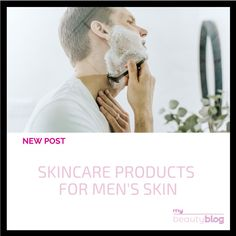 Today we will take a plunge in the world of men's skincare. Curious about which products to use? Check the new post on My Beauty Blog 😍  #cosmetics #menskincare #menskin #skincare #blog #beauty #beautyblog #onlineshop #onlinestore #instabeauty #mybeautyblog #mybeautybloom Skincare Blog, My Beauty, Take That, Skin Care, Cosmetics, Check, Products, Beauty Products, Skin Treatments