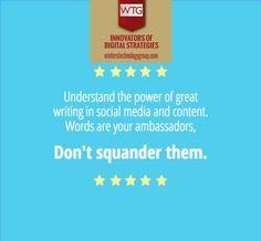 #WritingSkills | #PageContent | #Keywords