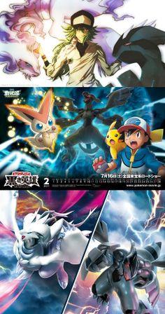 Pokemon - Zekrom and Reshiram